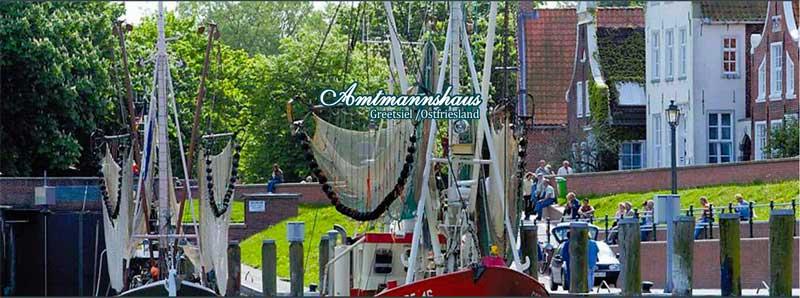 Ferienwohnungen Amtmannshaus Greetsiel Ostfriesland